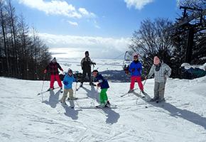 学童スキー合宿1