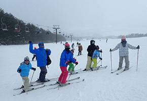 学童スキー合宿2